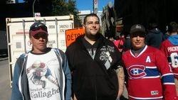 Stephany, Lion et Ludo au centre Bell